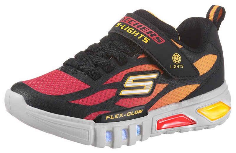 Skechers Kids »FLEX-GLOW« Sneaker mit Blinkfunktion