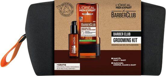 L'ORÉAL PARIS MEN EXPERT Bartpflege-Set »Barber Club Grooming Kit«, 3-tlg.