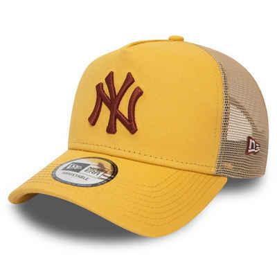New Era Trucker Cap »AFrame Trucker New York Yankees gold«