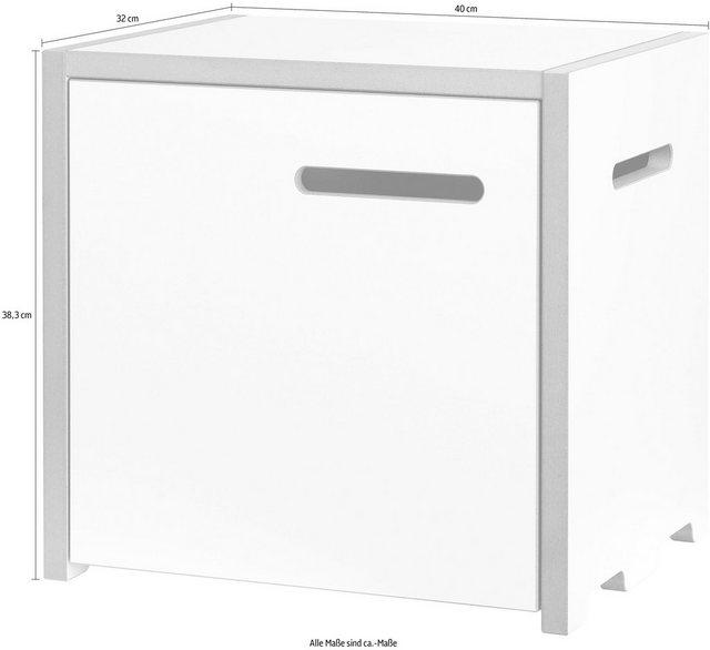 Küchenregale - Tojo Mehrzweckregal »halbstark Grundmodul mit Türe links«  - Onlineshop OTTO