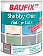 BAUFIX Acryl Buntlack »Shabby Chic«, Antik Lack, antikgrau, 750 ml, Bild 1