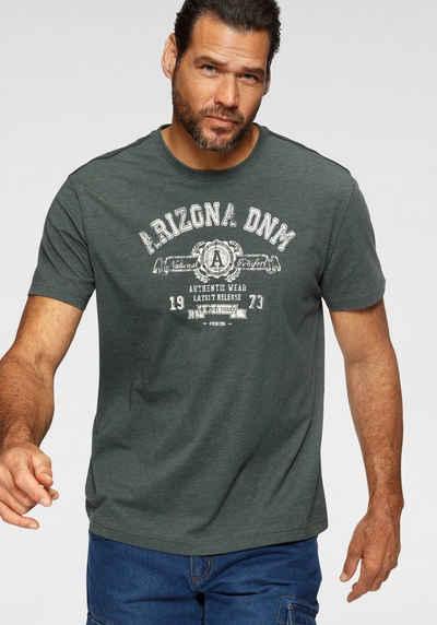 Arizona T-Shirt melierte Optik