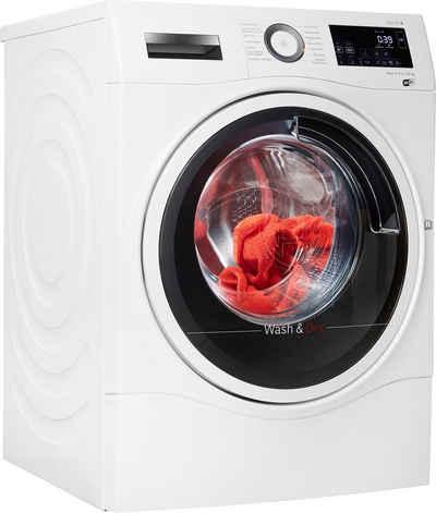 BOSCH Waschtrockner 6 WDU28512, 10 kg, 6 kg, 1400 U/min