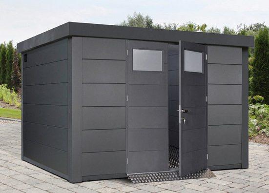 Wolff Gerätehaus »Eleganto 3330«, BxT: 348x318 cm