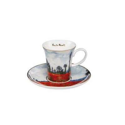 Goebel Espressotasse »Mohnfeld Artis Orbis Claude Monet«, Fine China-Porzellan
