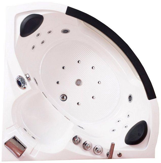 Badewannen und Whirlpools - Whirlpoolwanne »White L Mini «, B T H in cm 135 135 65  - Onlineshop OTTO