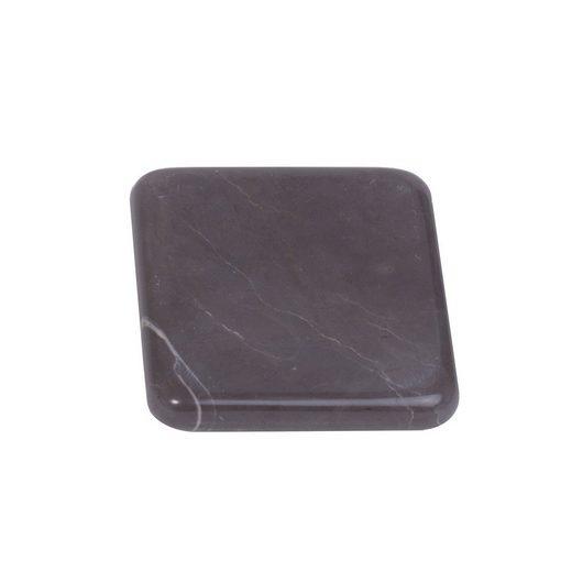 houseproud Seifenschale »Mercer Seifenschale«, hochglänzender Marmor, quadratische Form, rundgeschliffene Kanten