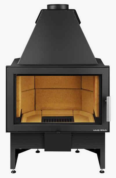 Haas + Sohn Kamineinsätze »Komfort«, 8,3 kW, Zeitbrand