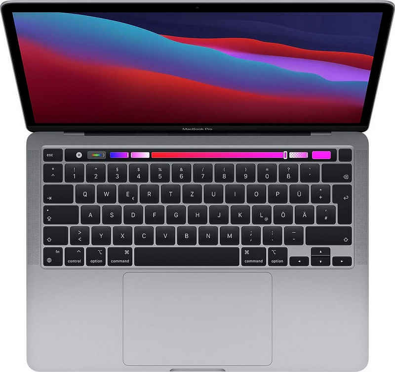 "Apple MacBook Pro 13"" mit Apple M1 Chip Notebook (33,78 cm/13,3 Zoll, Apple M1 Chip, 512 GB SSD)"