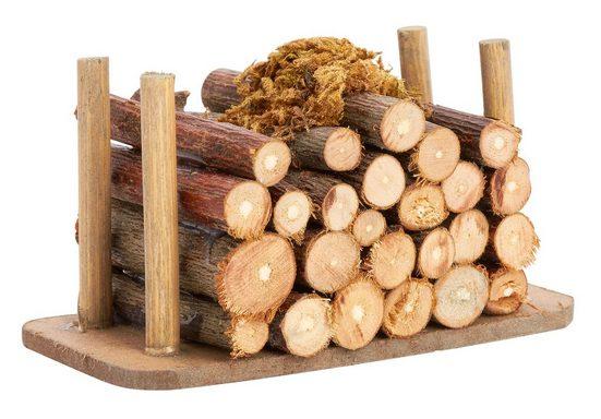 VBS Dekofigur »Holzstapel«, 8 cm x 4,5 cm