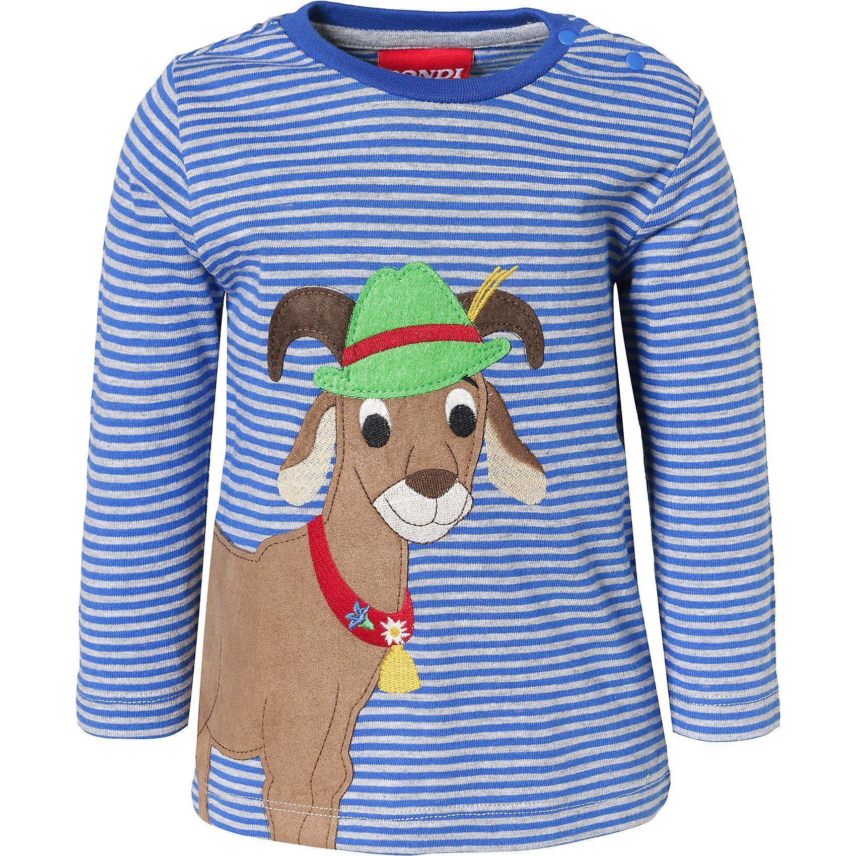 BONDI Baby Langarmshirt für Jungen, zeitloses Streifendessin online kaufen   OTTO