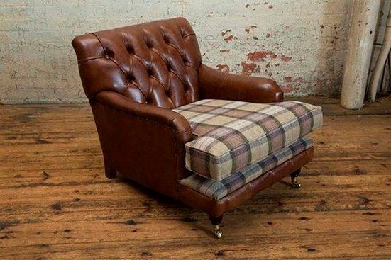 JVmoebel Chesterfield-Sessel, Chesterfield Sessel 1 Sitzer Garnitur Design