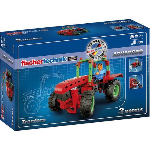 fischertechnik Metallbaukasten »ADVANCED Tractors«