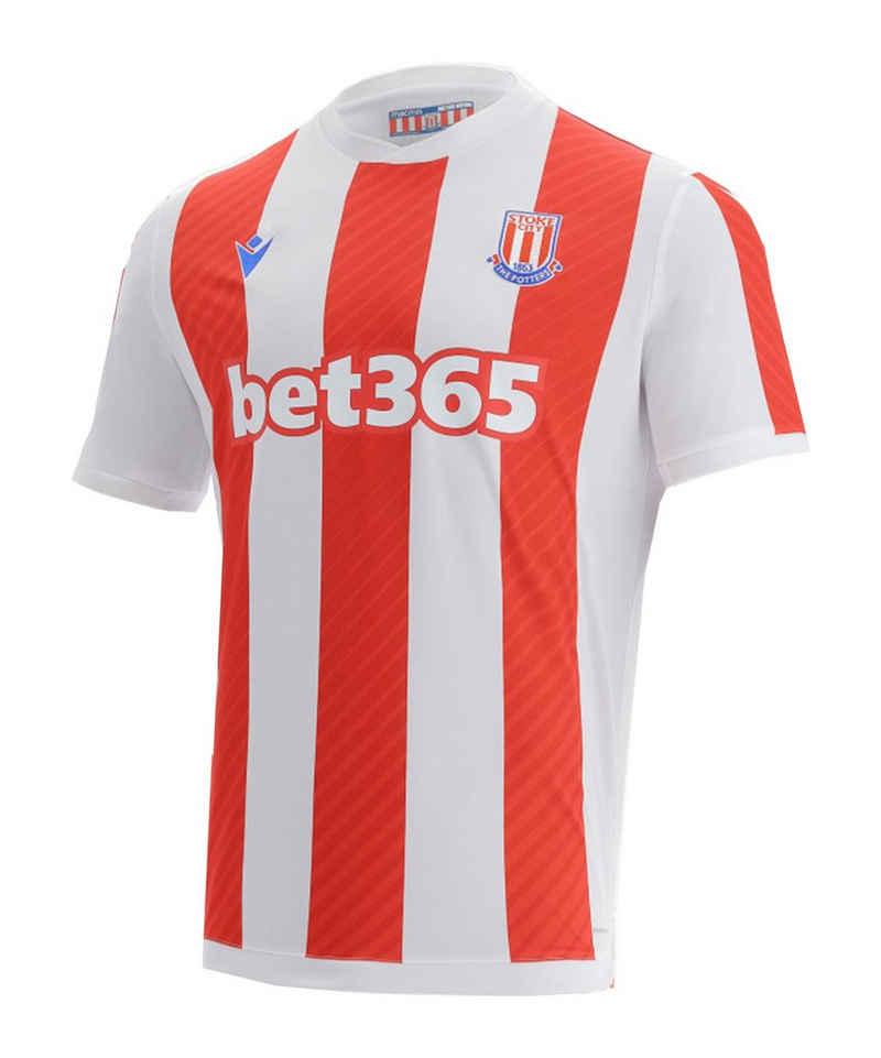 Macron Fußballtrikot »Stoke City Authentic Trikot Home 2021/2022«