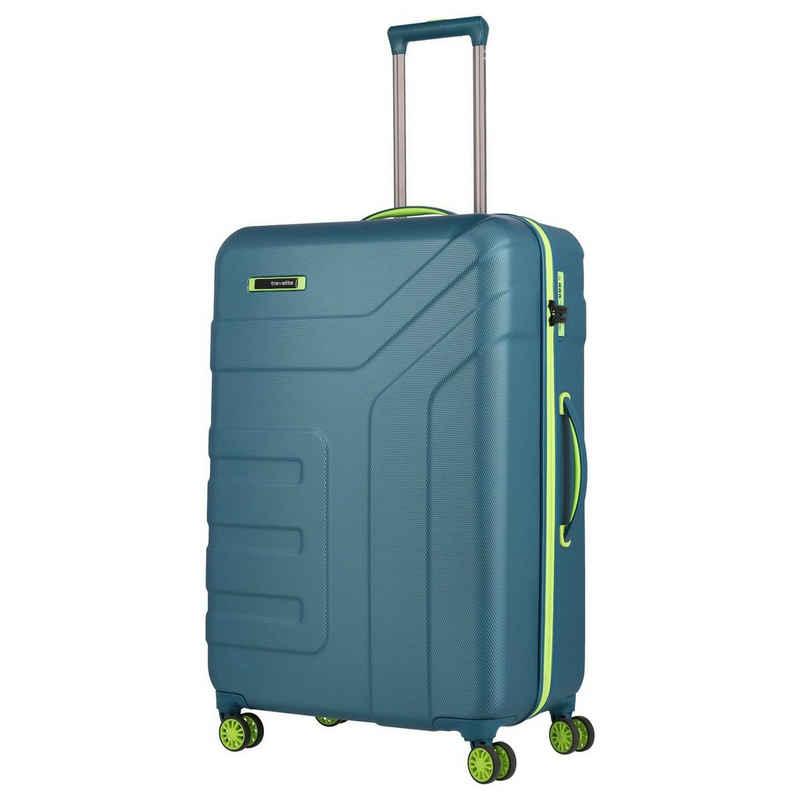 travelite Trolley »Vector 4-Rollen-Trolley L 77 cm«, 4 Rollen