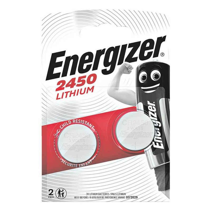 Energizer »Spezial Lithium« Knopfzelle, (2 St), CR 2450, lange Lebensdauer