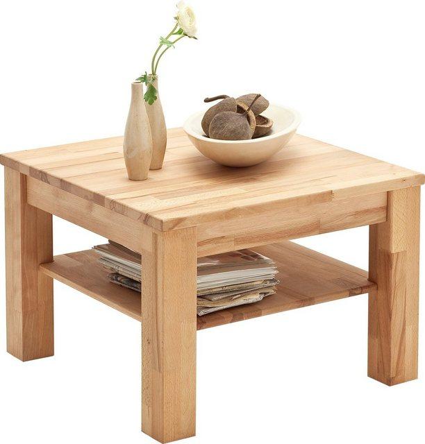 Wohnzimmertische - MCA furniture Couchtisch, Couchtisch Massivholztisch mit Ablage  - Onlineshop OTTO