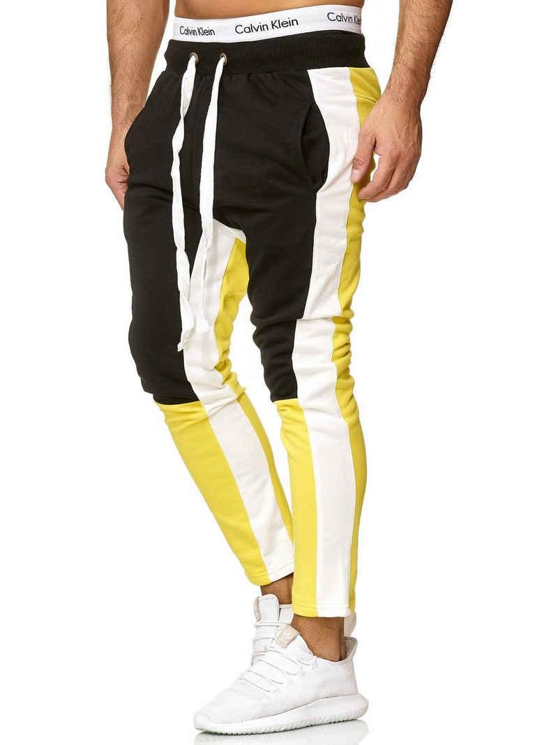 OneRedox Jogginghose »A10« (Sporthose Trainingshose Sweatpants, 1-tlg., im modischem Design) Fitness Freizeit Casual