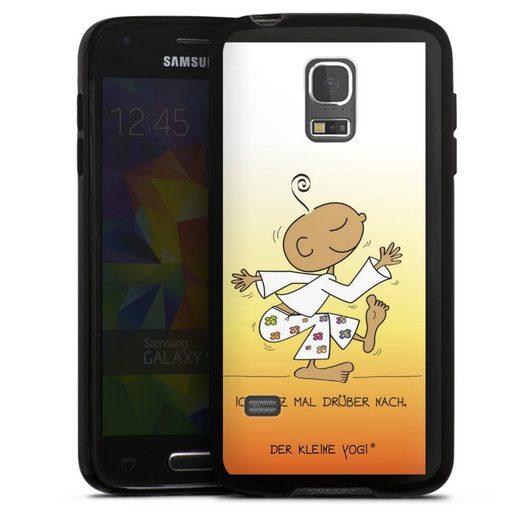 DeinDesign Handyhülle »Tanz mal drüber - Der kleine Yogi« Samsung Galaxy S5 mini, Hülle Der kleine Yogi Tanzen Sprüche
