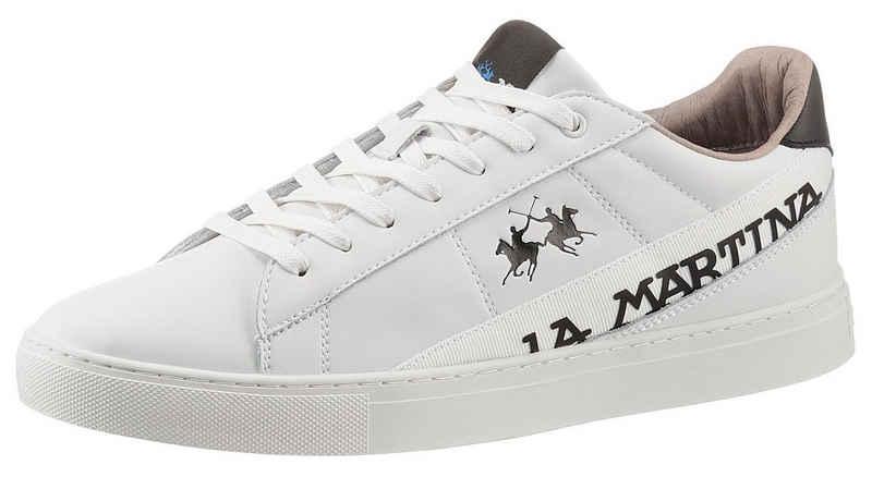 La Martina Sneaker mit Logoverzierung in Weite G (weit)