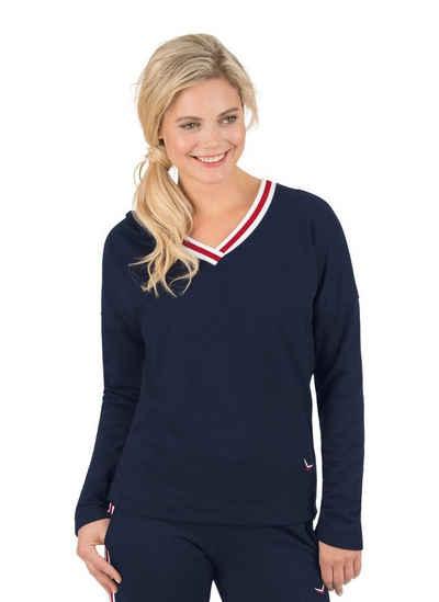 Trigema Kapuzensweatshirt Maritim
