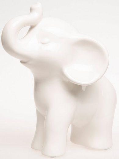 VALENTINO Wohnideen Dekofigur »Elefant Bindu« (1 Stück), stehend, Höhe ca. 17 cm
