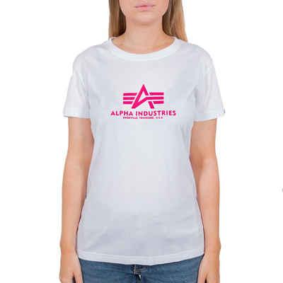 Alpha Industries T-Shirt »New Basic Neon Print« (1-tlg)