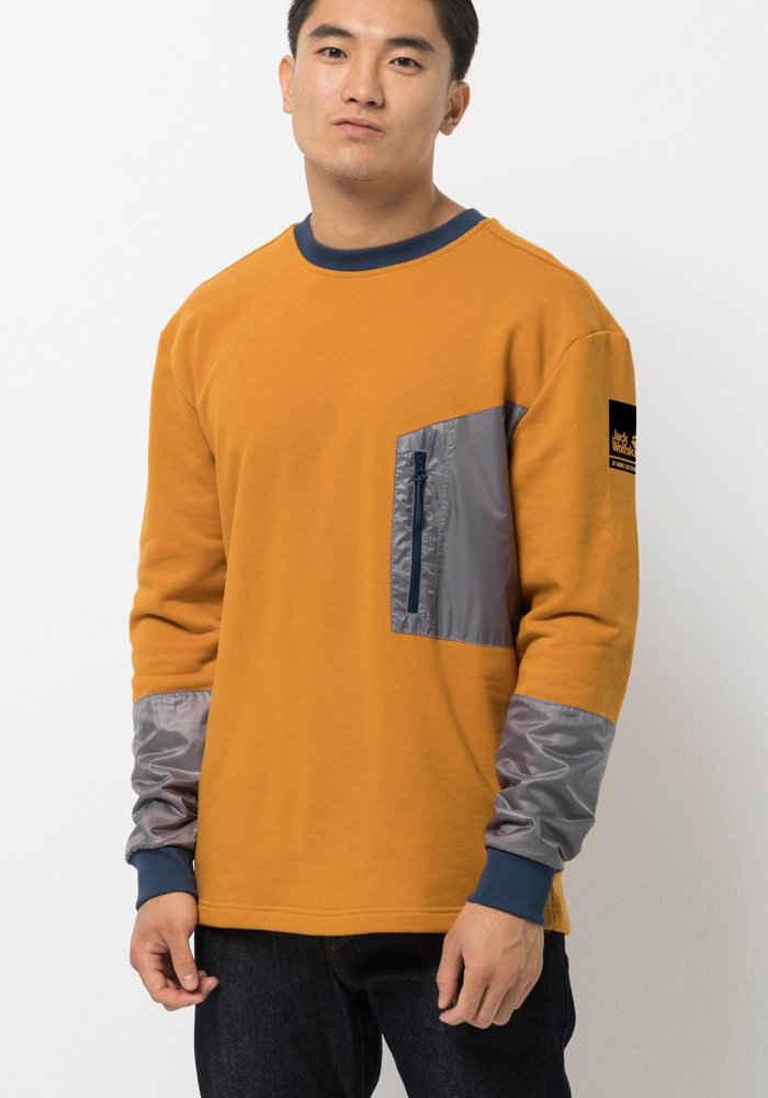 Jack Wolfskin Sweater »365 THUNDER POCKET CREW M«