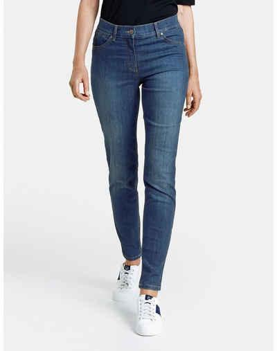 GERRY WEBER Stretch-Jeans »Jeans Skinny Fit4me« (1-tlg) 5-Pocket