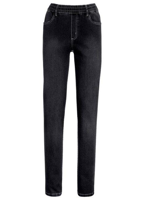 Hosen - Classic Basics High waist Jeans › schwarz  - Onlineshop OTTO