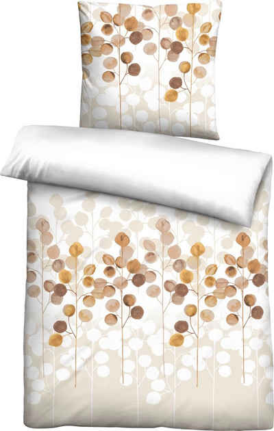 Bettwäsche »Liliana«, Biberna, mit floralem Design