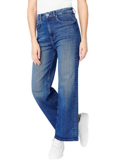 Pepe Jeans High-waist-Jeans »LEXA SKYHIGH« Straight Passform mit extra hohem Bund im Five-Pocket-Style aus Stretch Denim
