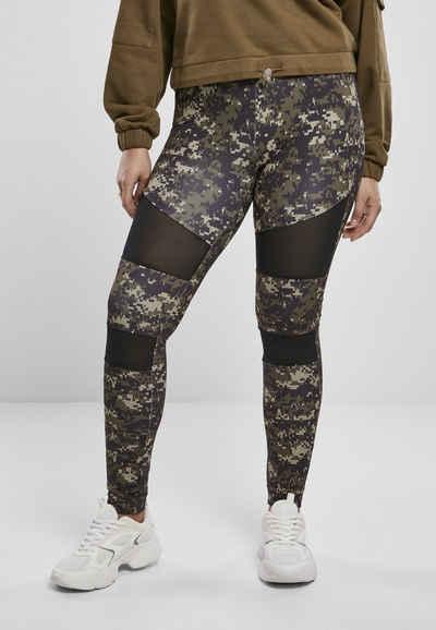 URBAN CLASSICS Leggings »Ladies Camo Tech Mesh Leggings«