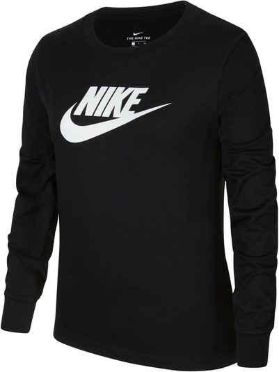 Nike Sportswear Langarmshirt »BIG KIDS (GIRLS) LONG-SLEEVE T-SHIRT«