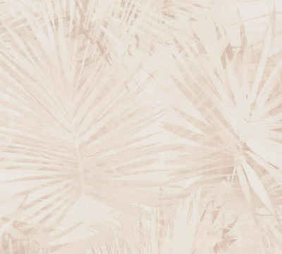 living walls Vliestapete »Hygge«, botanisch, tropisch, Palmen-Print