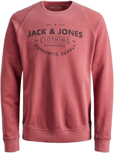 Jack & Jones Junior Sweatshirt »JJEJEANS WASHED SWEAT CR«