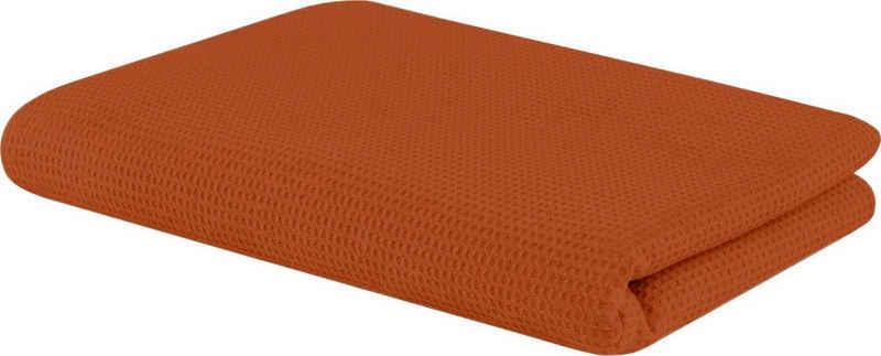 Wohndecke »Waffeldecke«, SETEX, aus Waffelpiqué, auch als Tagesdecke geeignet