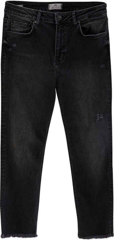 LTB Straight-Jeans »PIA« mit geradem Bein, hoher Leibhöhe und dezenter Waschung