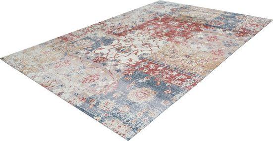 Teppich »Emin 1003«, calo-deluxe, rechteckig, Höhe 10 mm, reine Baumwolle, Wohnzimmer