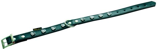 HEIM Hundehalsband »Pfote«, Länge: 50 cm, schwarz