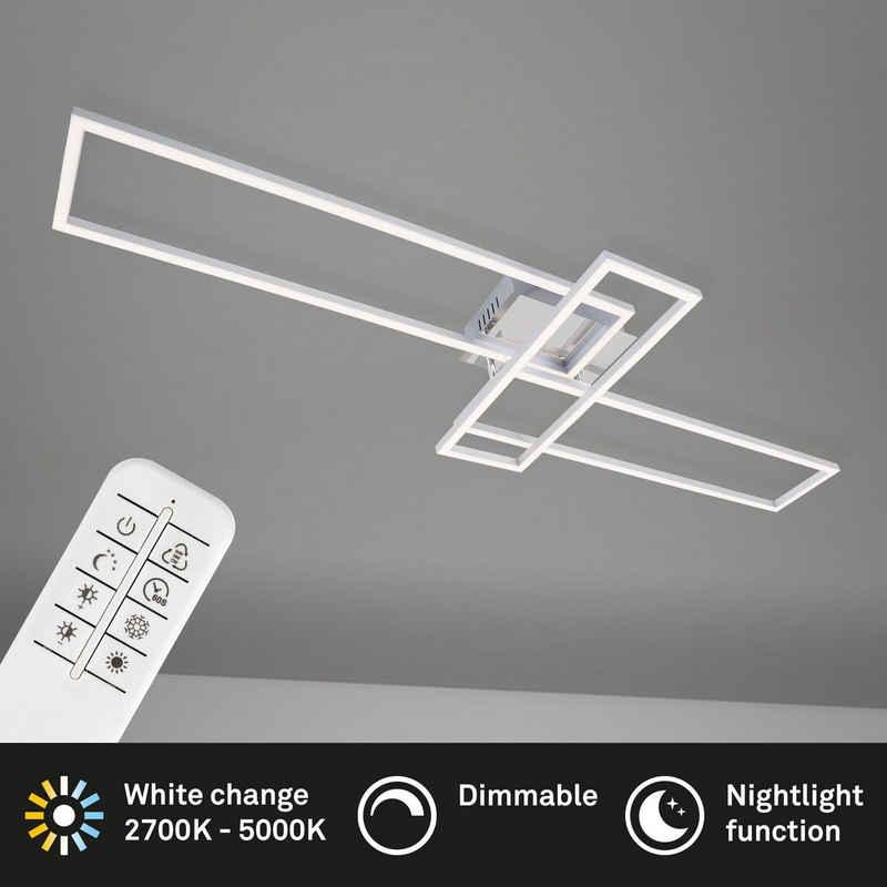 Briloner Leuchten Deckenleuchte »3154-018«, Deckenlampe schwenkbar dimmbar CCT Steuerung