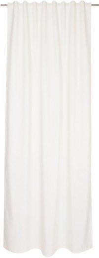 Vorhang »Pin Stripe«, TOM TAILOR, verdeckte Schlaufen (1 Stück), blickdicht