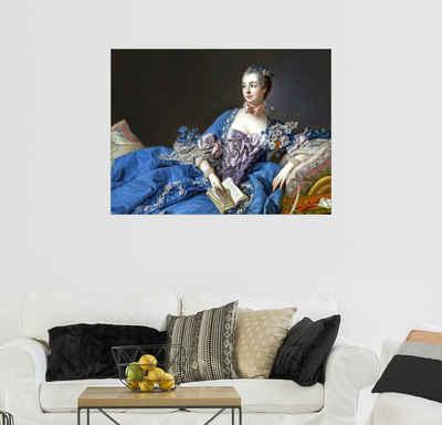 Posterlounge Wandbild, Madame de Pompadour