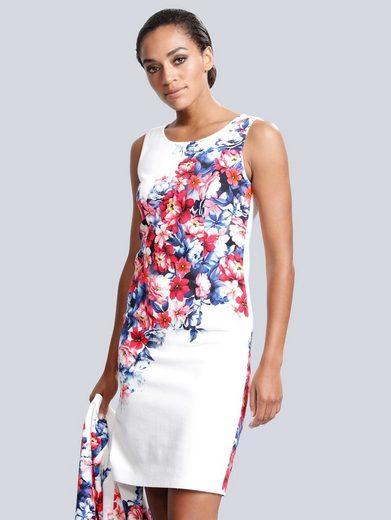 Alba Moda Kleid mit floralem Druck