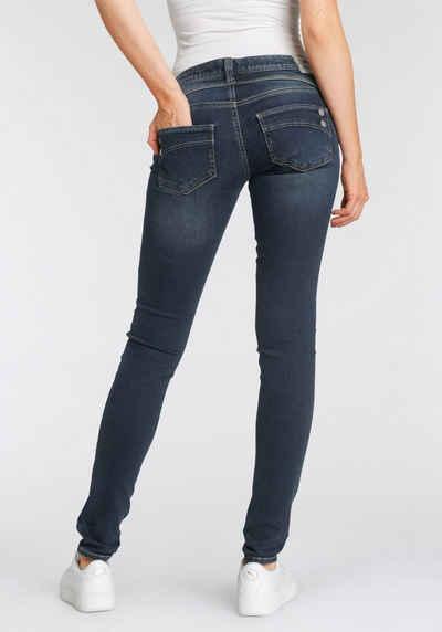 Herrlicher Slim-fit-Jeans »PIPER SLIM REUSED DENIM« Low Waist Powerstretch
