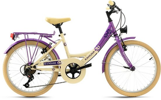 KS Cycling Jugendfahrrad »Kahuna«, 6 Gang Shimano Tourney Schaltwerk, Kettenschaltung