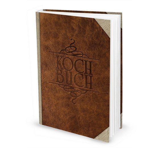 Logbuch-Verlag Notizbuch »Rezeptbuch zum Selberschreiben DIN A4«