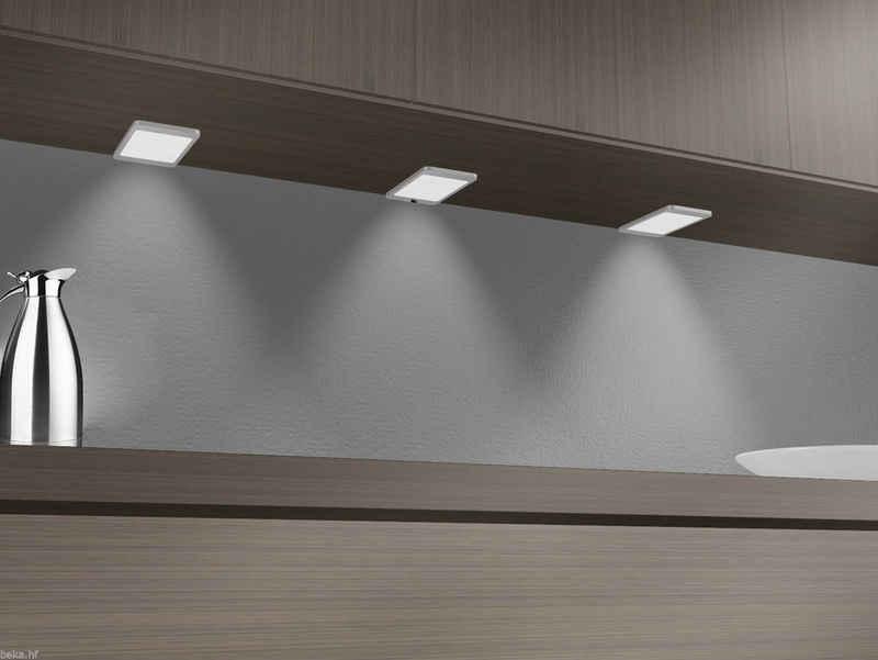kalb LED Unterbauleuchte »kalb LED Unterbauleuchte 6Watt SET Sensor Küchenleuchte Einbauspot Einbaustrahler«