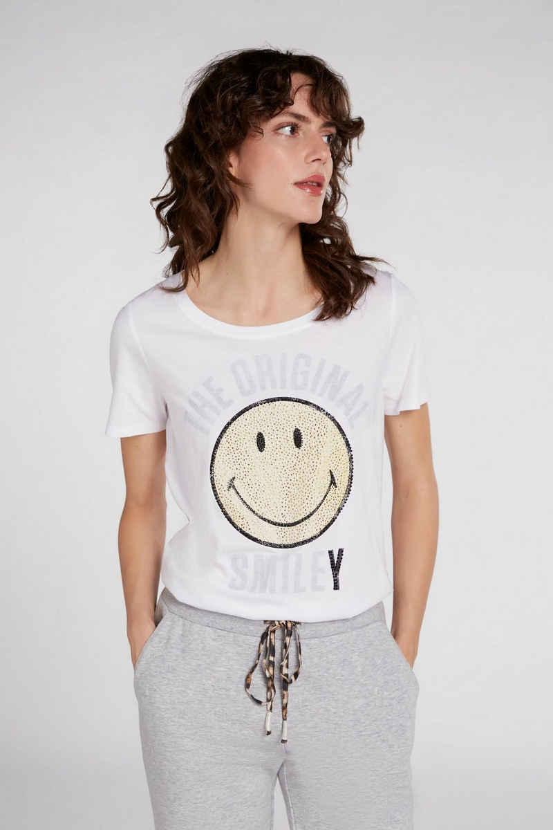 Oui T-Shirt »T-Shirt OUI X SMILEY®«