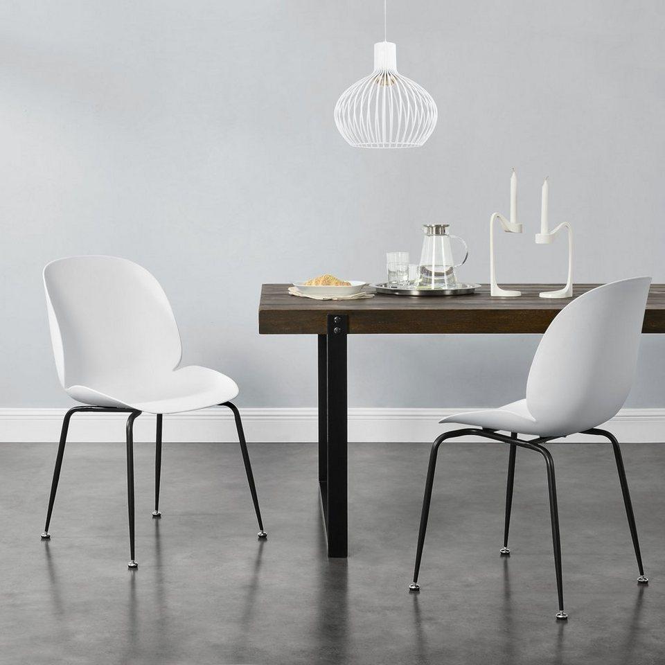 weiße stühle